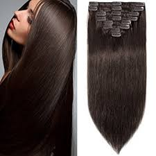 human hair clip in extensions 10 inch 70g clip in remy human hair extensions