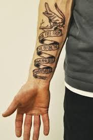 pftw writing tattoo