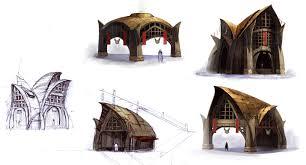 norn building sketches concept art jpg 3296 1776 배경 건물