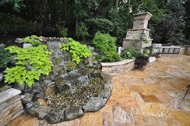 backyard natural waterfall designs gappsi long island ny