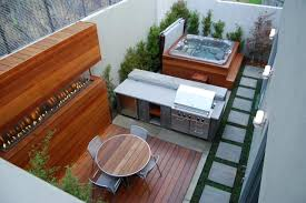 Backyard Designs With Pool And Outdoor Kitchen Gorgeous Decks And Patios With Tubs Tubs Tubs And Decking