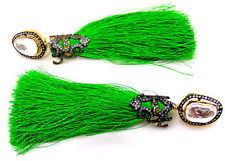 lotan earrings kundan earrings green ebay