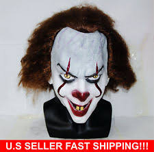 Pennywise Halloween Costume Pennywise Clown Clothing Shoes U0026 Accessories Ebay