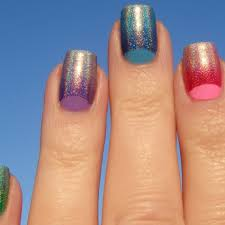 here u0027s which polishes we used for our half moon nails nail it