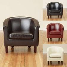 leather vintage retro armchairs ebay