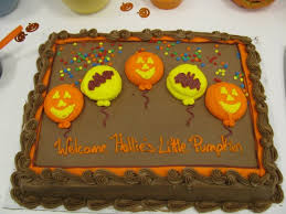 photo halloween baby shower ideas image