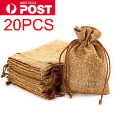 small burlap bags hessian bags ebay