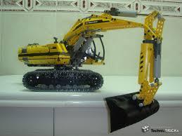8043 excavator digging range lego technic mindstorms u0026 model