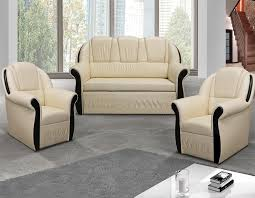 fauteuil canapé ensemble canapé convertible avec coffre et 2 fauteuils