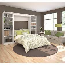bestar audrea full wall bed with two 25