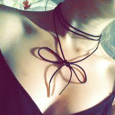long choker necklace black images Long black velvet choker necklace jpg