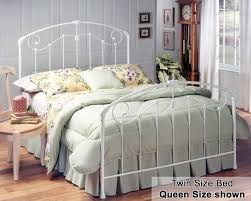 bedroom twin size bed with white queen wrought iron beds frame
