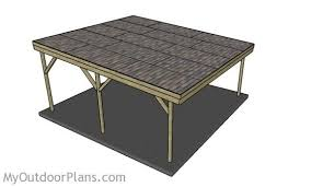 Building An Attached Carport Wood Carport Designs Myoutdoorplans Free Woodworking Plans And
