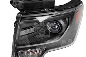 2012 Black Supercrew Ford Raptor - oem svt raptor hid projector headlights now available for 2009