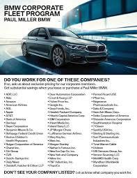 bmw lease programs fleet program paul miller bmw