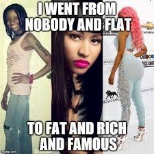 Nicki Minaj Meme - nicki minaj before and after memes imgflip
