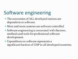 lecture 1 topics covered professional software development what