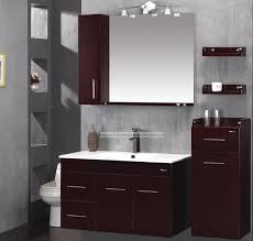 Granite Bathroom Countertops With Sink Bathroom Wall Cabinets White Stained Wooden Legs Cream Granite