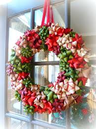 how to make wreaths christmas bows for wreaths thechowdown