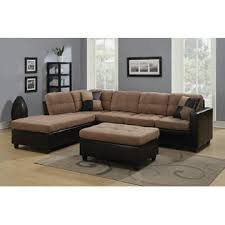 Leather Like Sofa Coaster 2 Pc Mallory Collection 2 Tone Microfiber Fabric And