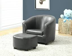 Chenille Armchair Ottoman Chairs With Ottoman Astonishing Oversized For Living