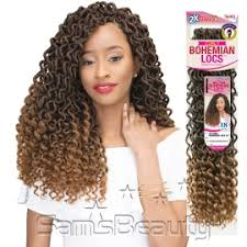 bohemian crochet braids janet collection synthetic hair crochet braids 2x mambo curly