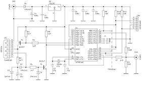 small tv terminal with atmega8 microcontroller