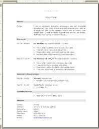 free professional cv samples download professional resumes