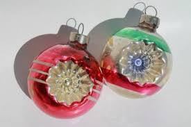 Vintage German Christmas Decorations by Glass Ornaments A German Christmas Miracle