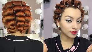 pin curl pin curl set part one