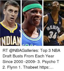 Nba Draft Memes - ndian rt top 3 nba draft busts from each year since 2000 2009 3
