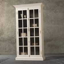 bookcases with glass doors home interior design