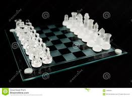 glass chess board setup games info