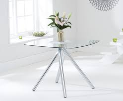 Square Glass Dining Tables Square Glass Dining Tables Great Furniture Trading Company The