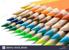 colorful crayons stock photo royalty free image 114710200 alamy