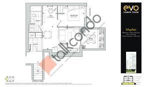 Scarborough Town Centre Floor Plan by Evo Condos Towns Talkcondo