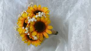sunflower bouquet sunflower bouquet with baby s breath artificial flower