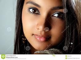 stunning headshot of beautiful young black stock images