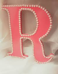 Letter Wall Decor Wooden Letter