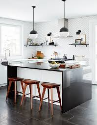 are black and white kitchens in style a black white kitchen makeover by richardson design