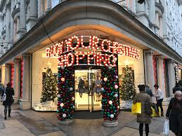 the most beautiful christmas windows in london maggie of style