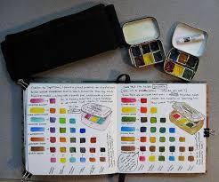 image gallery watercolor sketchbook