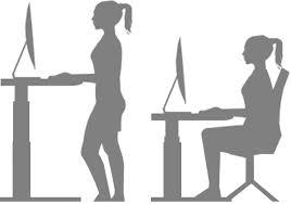 the height adjustable standing stir kinetic desk