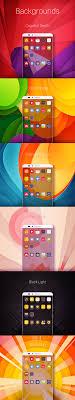 huawei designs app huawei theme on behance