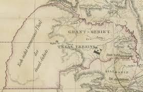 Colorado River Texas Map Karte Des Staates Texas 1851 U2013 Save Texas History U2013 Medium