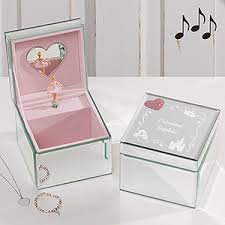 personalized jewelry box personalized princess ballerina box