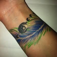 my feather bracelet tattoo tattoos i love pinterest bracelet