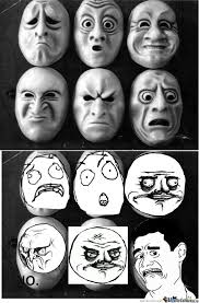 Face Mask Meme - rage face masks by krondar meme center