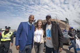 The Doc And Darryl Mets - doc gooden darryl strawberry attend mets opening day together ny