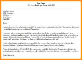 6 pharmacist cover letter examples parts of resume